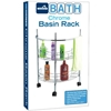 Bath Chrome Basin Rack With Wheels