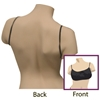 Dukal Reflections? Spa Undergarments, Backless Bra, Black, Small/Medium, Non-Sterile, 1/Bg 10Bg/Pk 25Pk/Cs