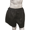 Dukal Reflections? Spa Undergarments, Boxers, Black, Large/Extra Large, Non-Sterile