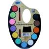 Artist Paint Set With Pallet - 12 Colors