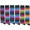 Women'S Novelty Knee-High Socks - Multicolor Stripes