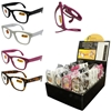Folding Reading Glasses Assortment W/ Display
