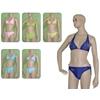 Women'S Bikini Swimsuits - Halter Top W/ Rhinestone Embellishment