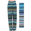 Women'S Pants - Zig Zag Prints