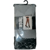 Black Fishnet Thigh High Stockings W/ Lace Cuffs