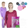 Women'S Fleece Thermal Underwear Sets - Assorted Colors