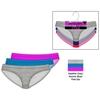 Solid Seamless Bikini Panties