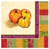 Fall Pumpkin Paper Luncheon Napkins-6.5'' X 6.5''