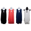 Women'S Sleeveless Pullover Cover-Ups - Solid Colors