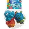 Puddle Winks Bath Squirt Toys 4 Pack