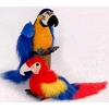 "9"" 2 Asst. Macaws, Blue and Scarlet"