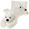 "18"" Polar Bear Peek-A-Boo Pillow"