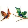 """14.5"""" 2 Assorted Color Plush Parrot"""