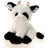 """Camp - 9"""" Big Eye Sitting Plush Stuffed Cow Farm Animal"""