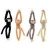 """16"""" 4 Assorted Natural Color Long Legged Monkey"""
