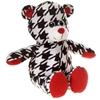 """9.5"""" Sitting Hounds Tooth Bear"""
