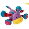 "7.5"" Purple Laydown Giraffes With Rattl"