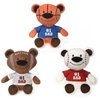 """9"""" 3 Assorted Father'S Day Sports Bear"""