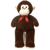 """32"""" Cuddle Monkey With Red Ribbon With Fiesta"""