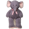 """39"""" Cuddle Elephant With Pink Ribbon"""