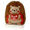 """8"""" Hedgehog Holding Heart With """"Stuck On"""