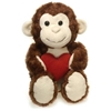 """13"""" Cuddle Monkey With Heart"""