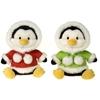 "12"" Bean Bag Christmas Penguins"