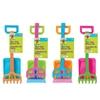 3 Piece Kids Plastic Beach Set - Shovel - Rake and Spade
