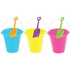 "7"" Plastic Bucket And Shovel Set"