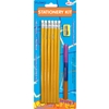 Study Kit Includes 6 No.2 Pencils, 3 Pencil Grips And 1 Sharpener