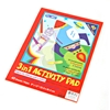 40 Sheet 3-In-1 Activity Pad