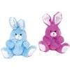 "10"" Plush Hippity Hop Easter Bunny With Chiffon Ribbon"