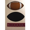 """Large Footballl Magnet 7"""" Wide"""