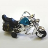 Toy Motorcycle With Pull Back Action