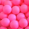 Table Tennis Ball Pink