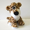 Plush Leopard With Funny Eyes
