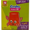 16Ct Crabs Foam Sticker Kit