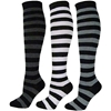 J.Ann Ladies Stripe Knee-High Socks