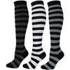 J.Ann Ladies Stripe Knee-High Socks
