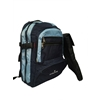 Laptop Backpack W/Removable Sleeve - Navy/Lt Blue