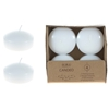 """2"""" Unscented Floating Candles - White"""