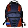 "16.6"" Backpack Navy/Orange"