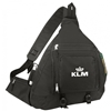 """16"""" Deluxe Poly Body Backpack - Black"""