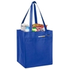 Non Woven Tote With Fabric Covered Bottom - Royal
