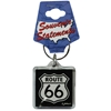 Route 66 Keychain Lucite Shield