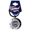 Route 66 Keychain Spinner Rhinestones
