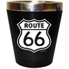 Route 66 Shotglass (Stainless Steel) Acrylic Shield