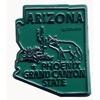 Arizona Magnet 2D 50 State Sand