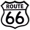 Route 66 Magnet 2D Shield