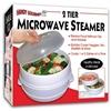 As Seen On Tv 2 Tier Microwave Steamer